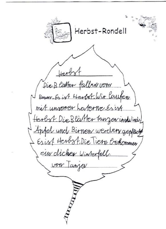 Herbst Rondell Grundschule Blomberg Neuschoo