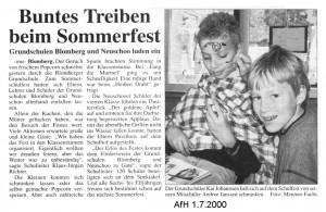 Anzeiger für Harlingerland 1.7.2000