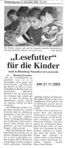 Anzeiger für Harlingerland 21.11.2002