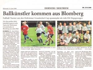 Anzeiger für Harlingerland 25.6.2008