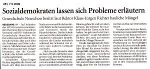 Anzeiger für Harlingerland 7.5.2009