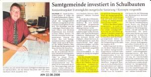 Anzeiger für Harlingerland 22.8.2009