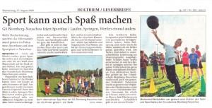 Anzeiger für Harlingerland 27.8.2009