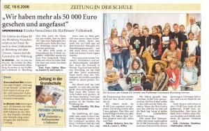 Ostfriesenzeitung 19.6.2006