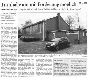 Ostfriesenzeitung 5.2.2009