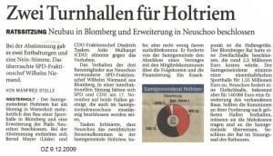 Ostfriesenzeitung 9.12.2009