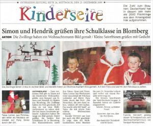 Ostfriesenzeitung 23.12.2009