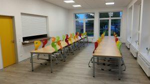 Die neue Mensa der Grundschule Blomberg-Neuschoo